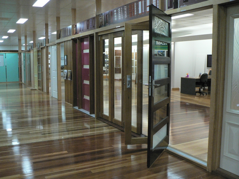 Barwon Timber Showroom Corinthian Doors