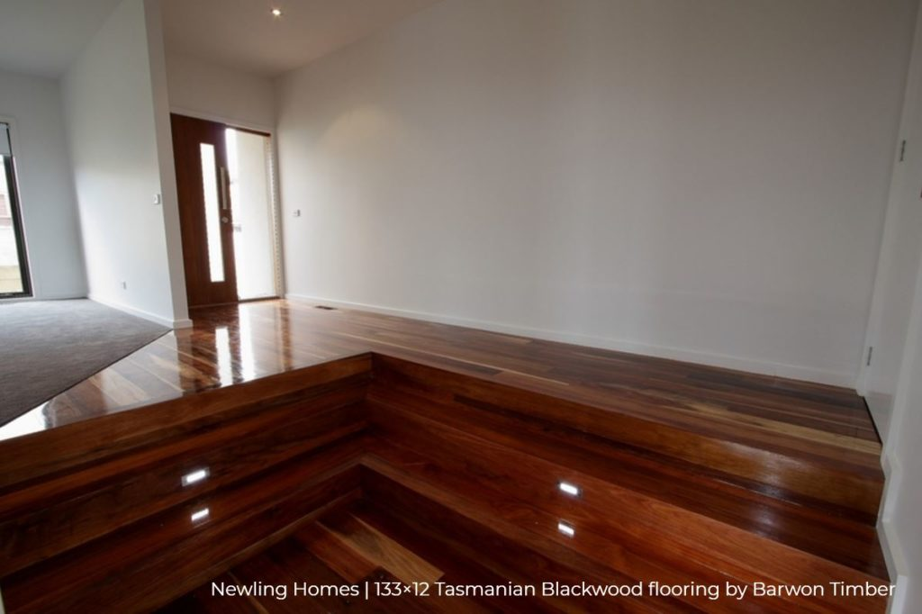 Newling Homes - Tasmanian Blackwood flooring 2