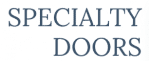 Specialty Doors 300x123 - Doors and Fix Out