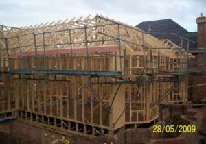Roof trusses 300x225 landscape - Prefabricated Products